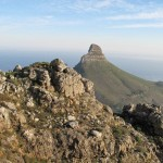View of Lions Head from India Venster