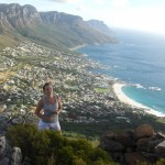 Julie hiking Lions Head
